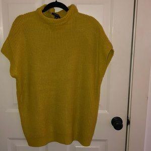 Unique mustard colored sweater Kenneth Cole
